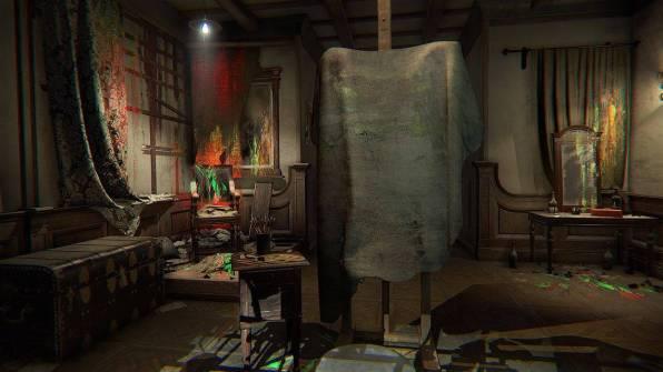 L'atelier del pittore, dove tutto inizia e dove tutto finisce.