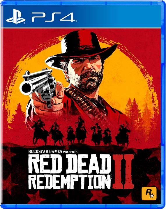 Red Dead Redemption 2 - Cover PS4