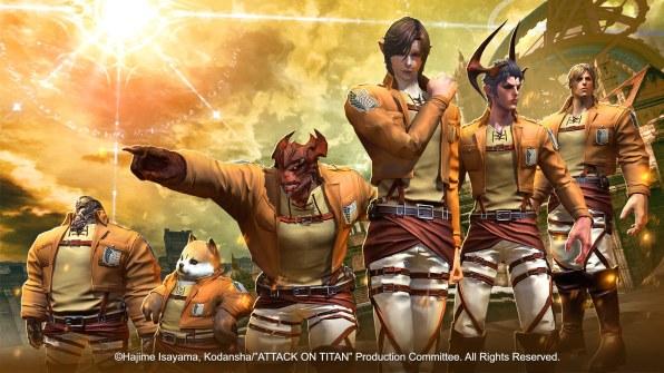 TERA - Attack on Titan