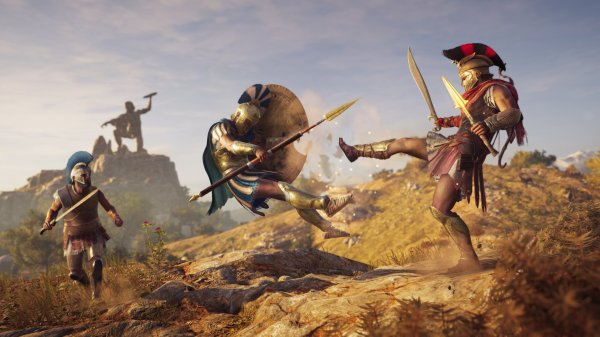 Check Out This Crazy Live Action Assassin's Creed Odyssey ...