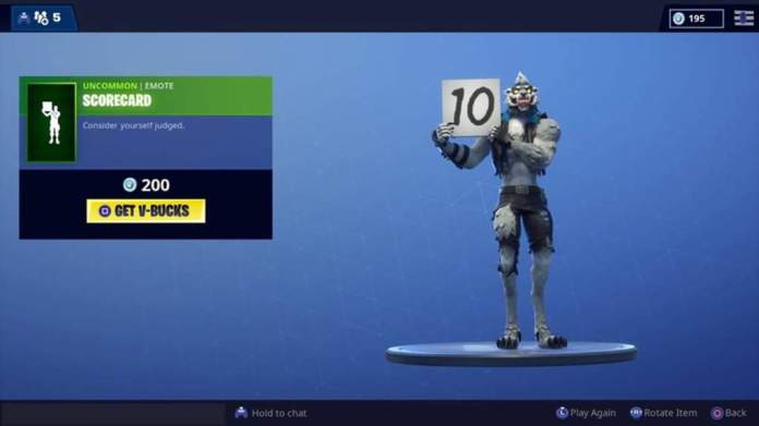 By combining two emotes in Fortnite, you can diss your opponent.