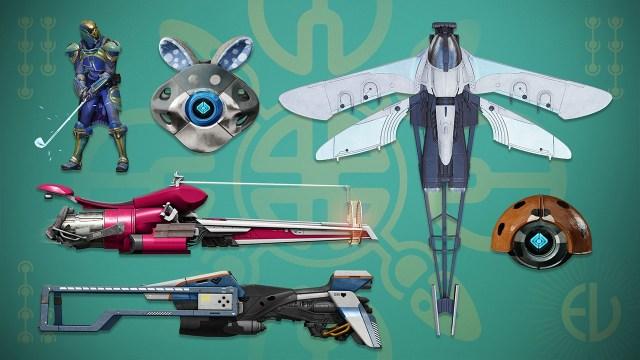 Destiny 2 Revelry items