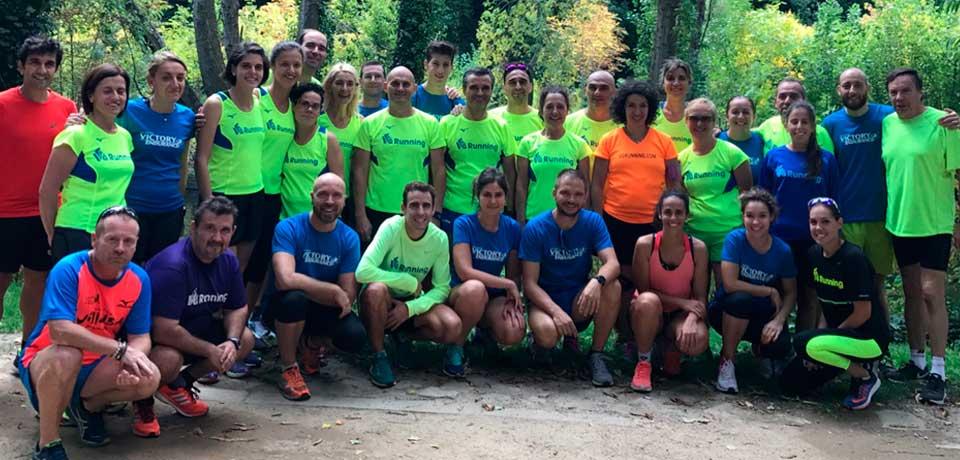 Asistentes al primer Campus VG Running