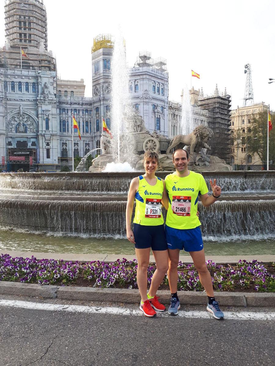 Maratón Madrid - Minutos Previos