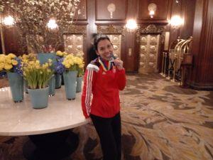 Maratón Boston - Medalla