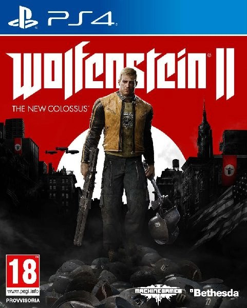 Wolfenstein II The New Colossus PS4 cover