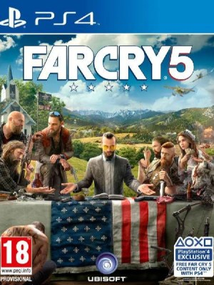 Far Cry 5 Playstation 4 cover