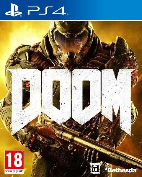Doom PS4 cover