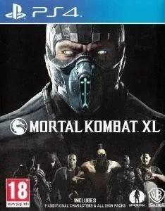 Mortal Kombat XL PS4 cover