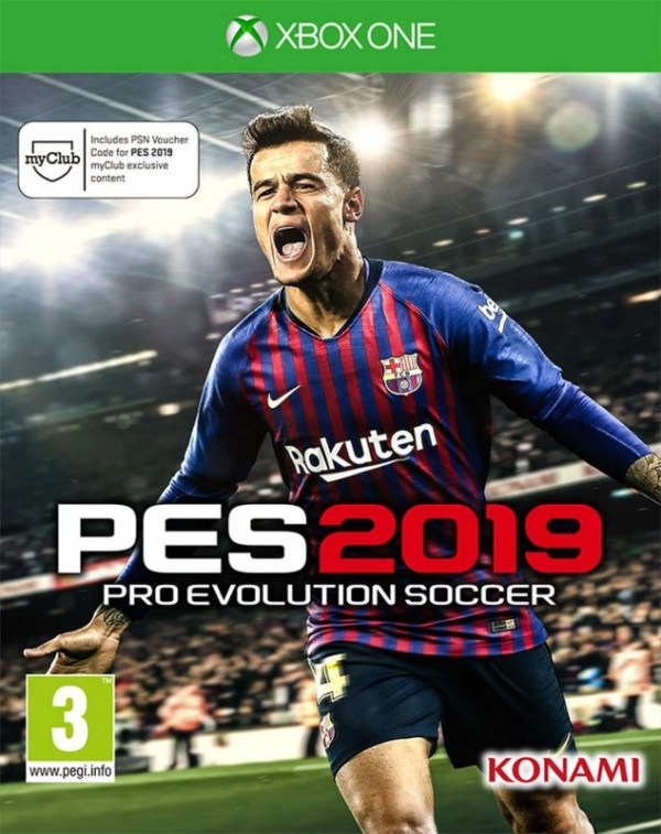 Pro Evolution Soccer 2019 Xbox One cover