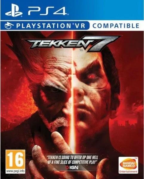 Tekken 7 Playstation 4 cover