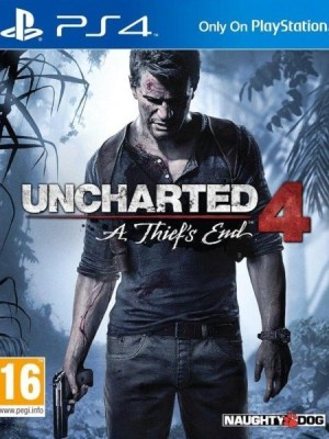 Uncharted 4 A Thief's End Playstation 4 cover