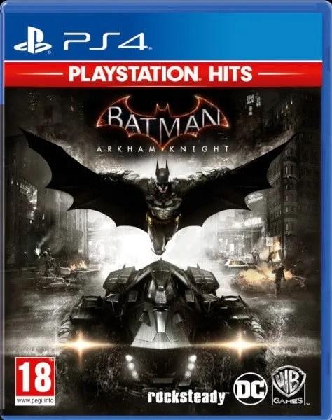 Batman Arkham Knight Playstation 4 cover