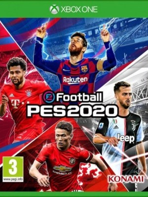 PES 2020 Xbox One cover