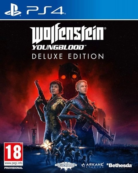 Wolfenstein Youngblood Playstation 4 cover