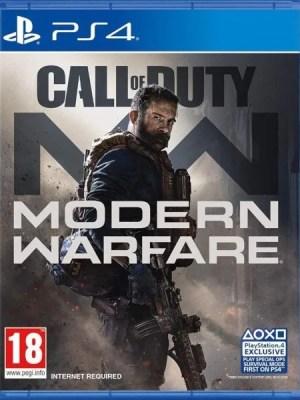 Call of Duty Modern Warfare Playstation 4 cover