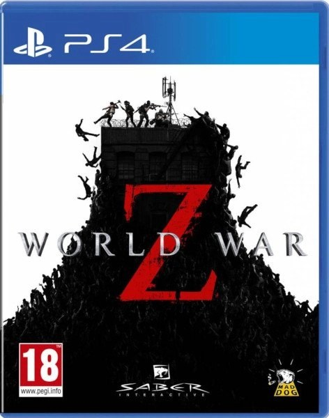 World War Z Playstation 4 Cover