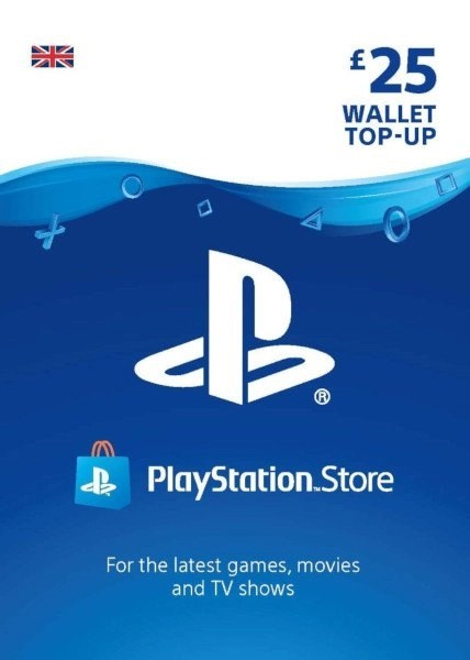 Playstation Network 25 GBP Card