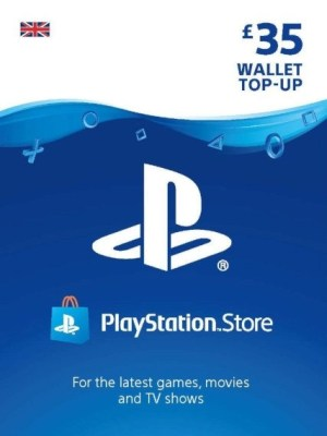 Playstation Network 35 GBP Card