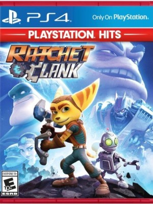 Ratchet and Clank Playstation 4 cover