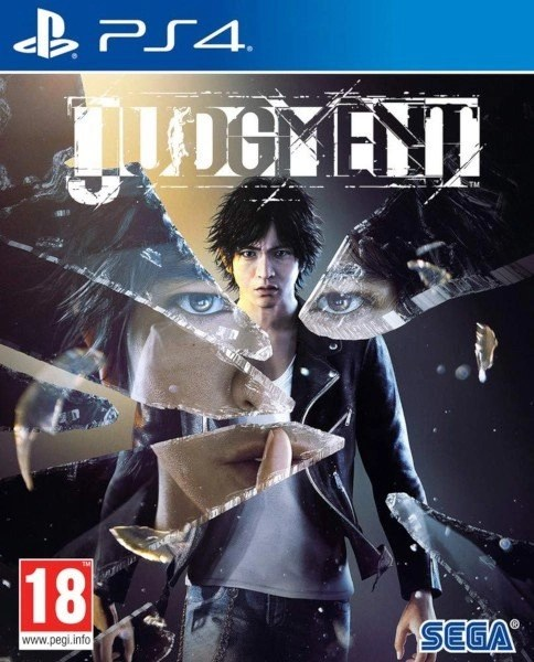 Judgment Playstation 4 cover