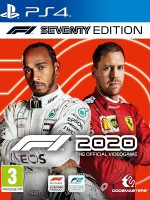 F1 2020 Playstation 4 cover