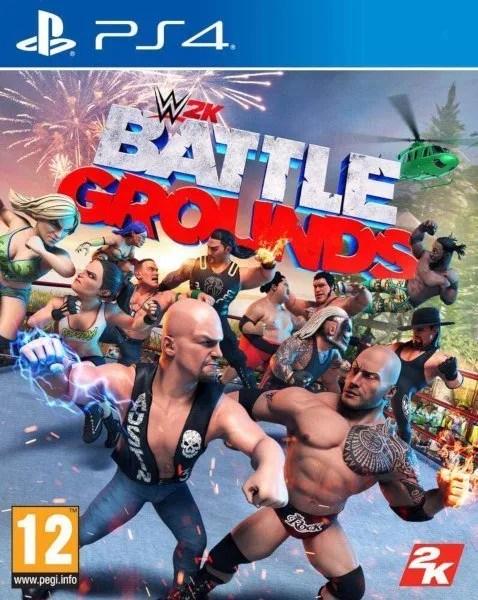 WWE 2K Battlegrounds Playstation 4 cover