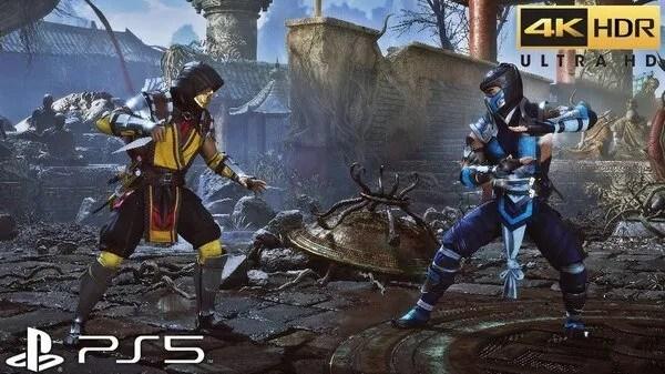 mortal kombat Ps5 games online