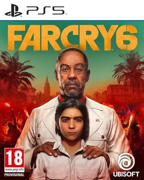 Far Cry 6 PS5 cover