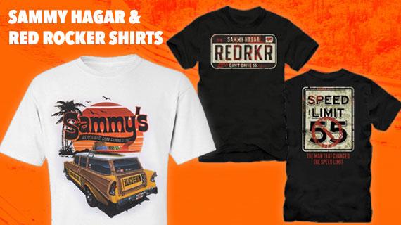 Sammy Hagar Cabo Wabo T Shirts