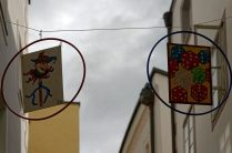 "5. Platz Projektion - Rolf Hengel ""Werbung"""