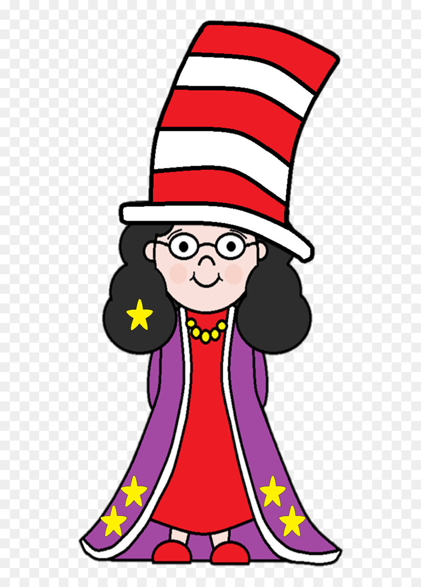 Cat In The Hat Clipart Clipart Hd Png Download Vhv
