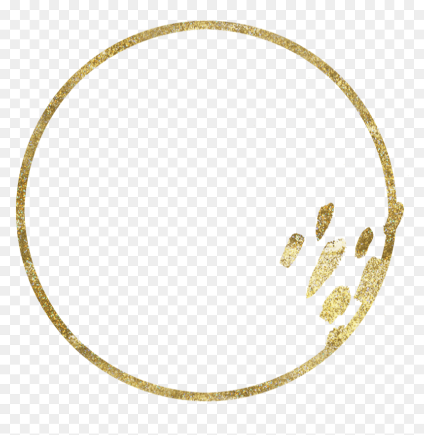 Transparent Gold Circle Frame Png Gold Circle Frame Png Png Download Vhv