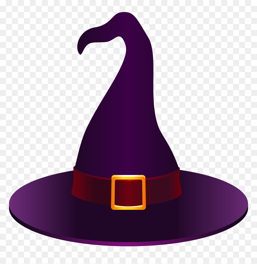 Hats Clipart Halloween Witch Hat Clipart Purple Hd Png Download Vhv