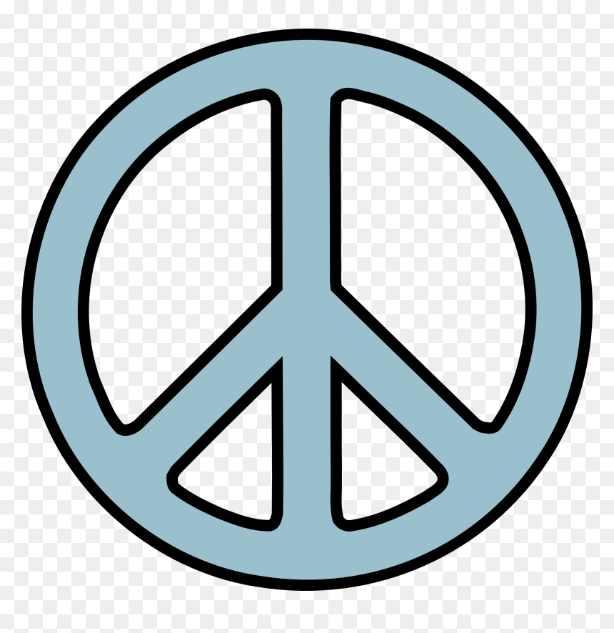 Vector Alien Peace Sign Peace Sign Png Transparent Png Vhv
