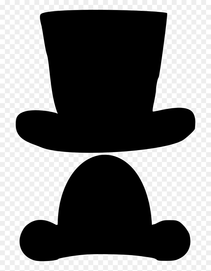 Top Hat Photo Booth Photography Clothing Accessories Accessoires Photobooth A Imprimer Hd Png Download Vhv