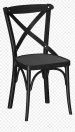 Black Wooden Dining Chairs Png Download Black Cross Back Chairs Transparent Png Vhv
