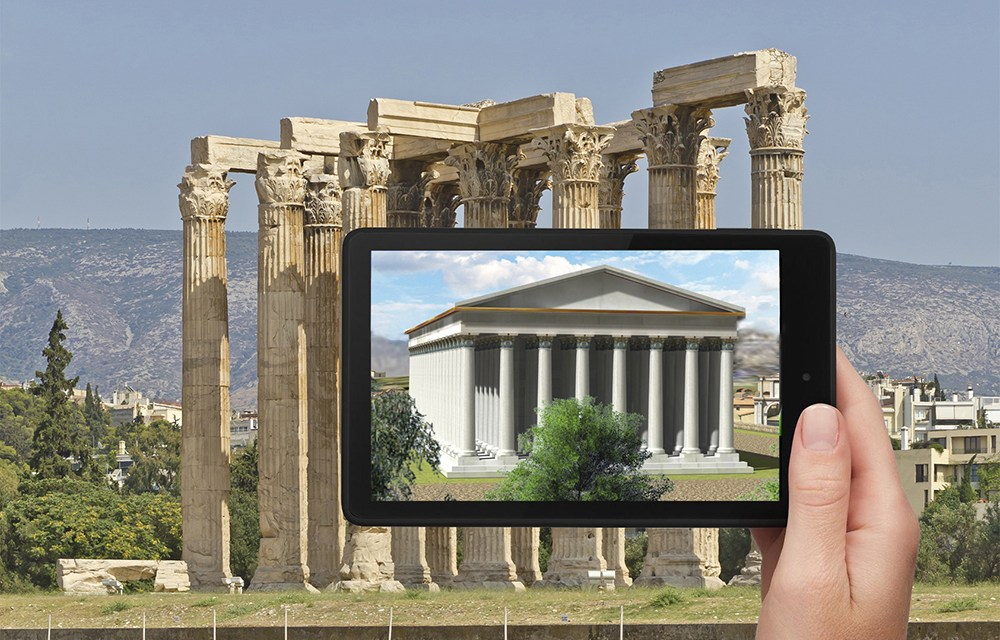 Athens Time Walk – A virtual experience back in time