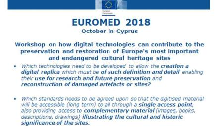 Stakeholder workshop organised in collaboration with the European Commission -29 -30 Oct 2018