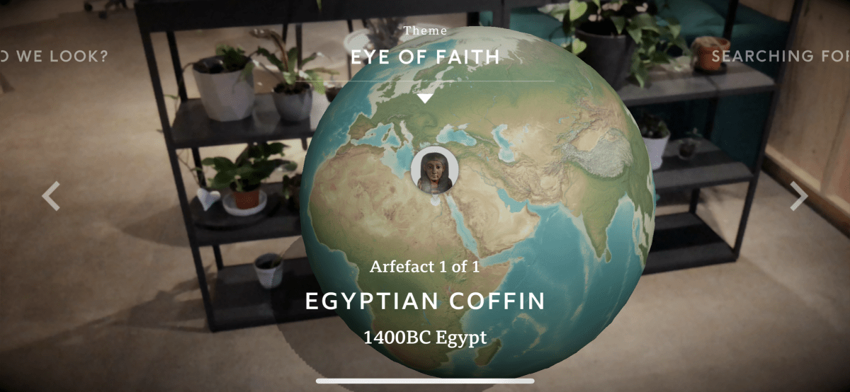 Civilisations AR: Museum visits in BBC first augmented reality app