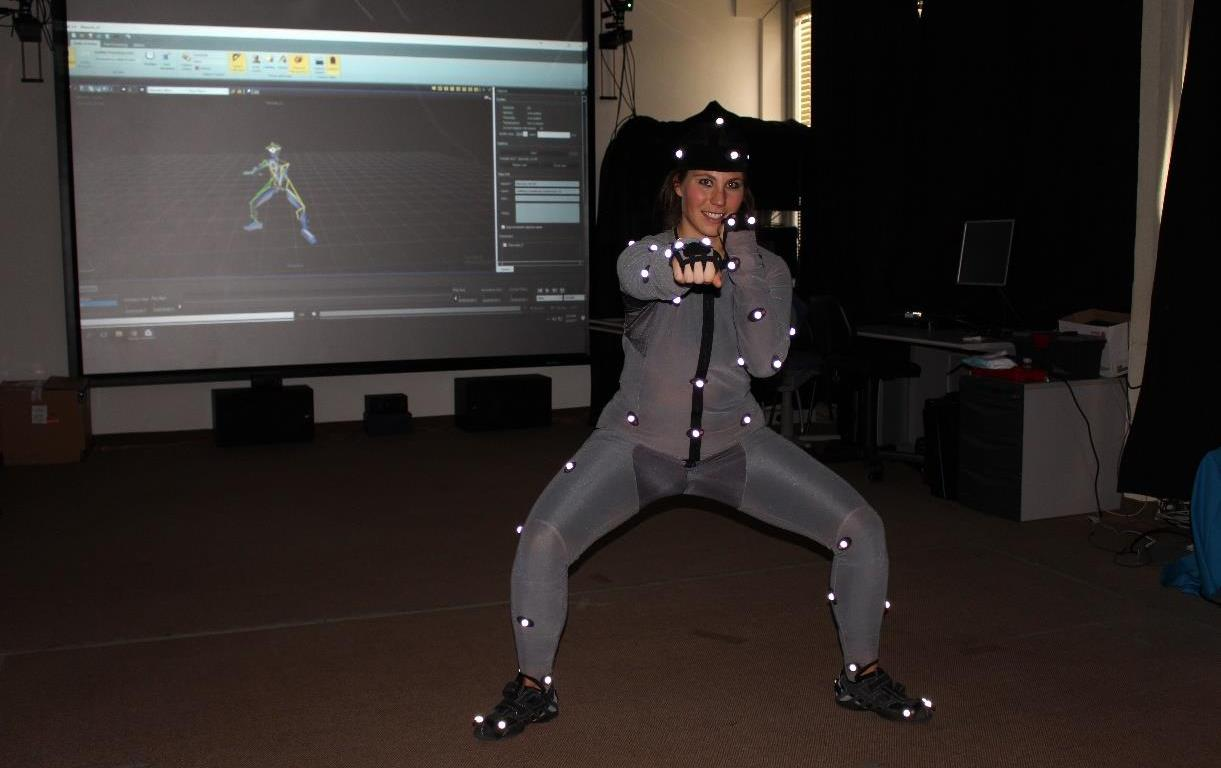 Case study for Animating Virtual Human