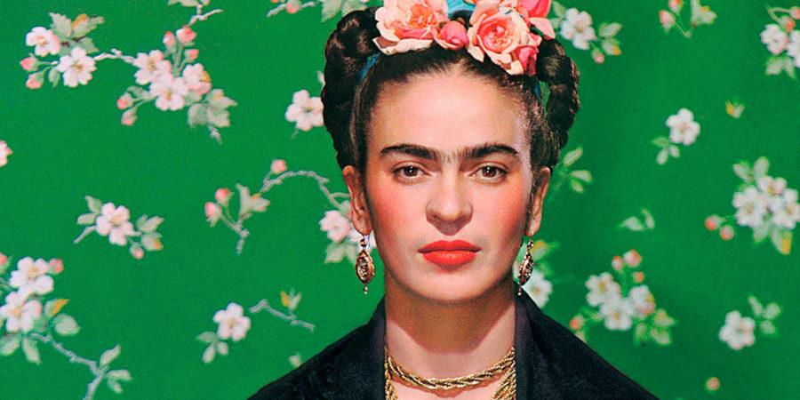Faces of Frida Kahlo