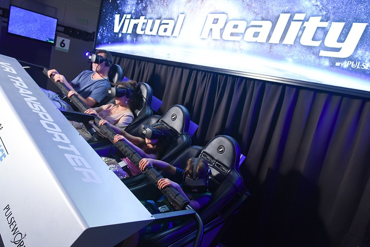 Virtual Reality Arcade is opened at the Denver Museum of Nature & Science