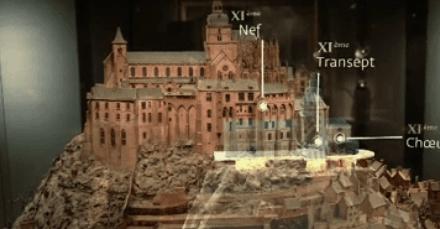 Microsoft's HoloLens Morphs Paris Museum Model of Mont-Saint-Michel into Masterpiece of AR