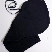 CQ – Scaldacollo con cappuccio in merino