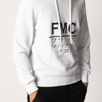 FMC – Felpa in cotone con cappuccio
