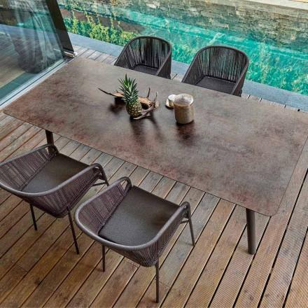 Scopri la gamma di tavoli e tavolini da esterno. Modern Outdoor Indoor Dining Table H65 Link By Varaschin