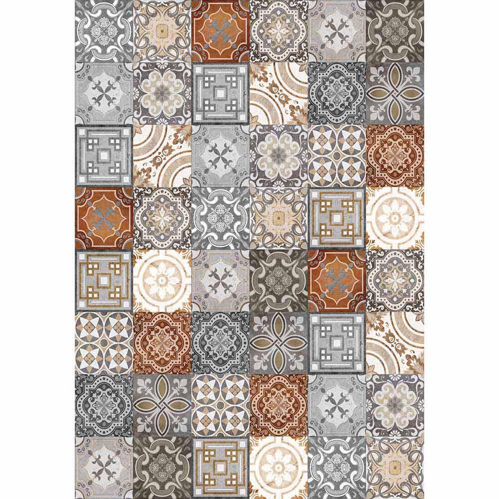 chemin de table vintage rectangulaire design pvc et polyester dimetra