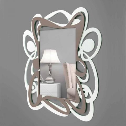 """Lo stile della camera da letto, indipendentemente dal fatto che sia """"classic"""" Specchio A Muro Moderno In Legno Design Per Camera Da Letto"""