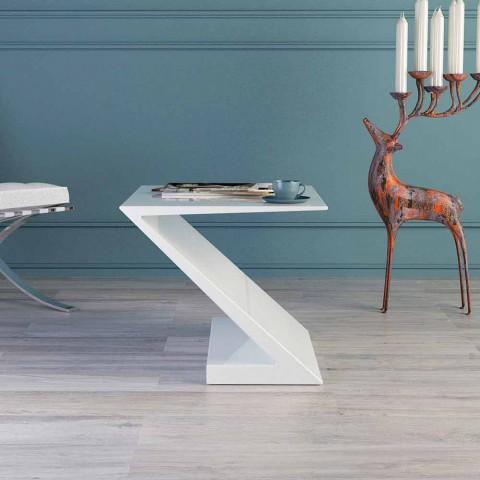 Miliboo propone un'ampia selezione di tavolini da salotto moderni, modelli dal design originale, in materiali di qualità, per un arredo chic a prezzi. Tavolino Da Salotto Bianco Design Moderno Zeta Made In Italy